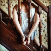 Stairs to paradise   #selfbondage  #selflove  #sexyhands  #bdsm  #bdsmsubmissive  #sexpositive  #slave  #cuffedgirl #cuffedhands  #tiedup  #chains  #intim #sexybedroom  #restrained