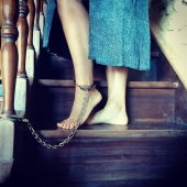 Not that fast, Lady  #bdsmsubmissive  #bdsm  #pleasure  #sexyfeetandtoes  #sexybedroom  #sexpositive  #sexychain  #slave  #bondage  #selfbondage  #selflove  #private  #cuffedgirl  #cuffedfeet  #chains  #chainedfeet  #greatsex